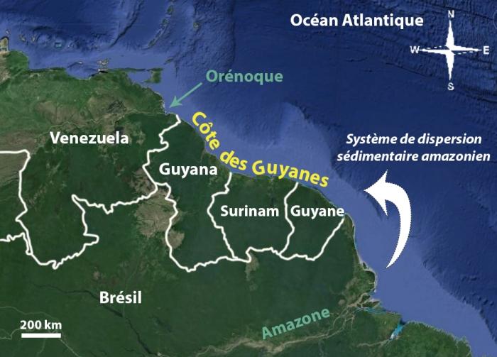 Carte nord Amérique du sud