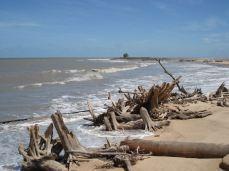 Erosion des rizières de Mana, 2006 © AGardel